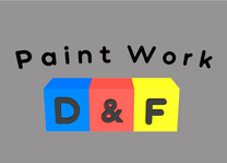 D&F Paint Work's logo