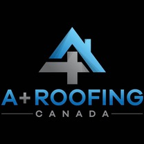 A + Roofing Canada's logo