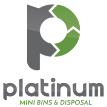 Platinum Mini Bins & Disposal's logo