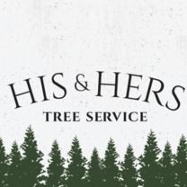 His & Hers Tree Service's logo