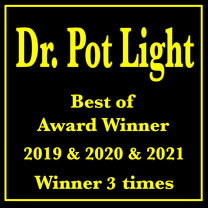 Dr Pot Light's logo